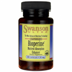 Bioperine Nutrient Absorption Enhancer, 10 mg 60 Caps
