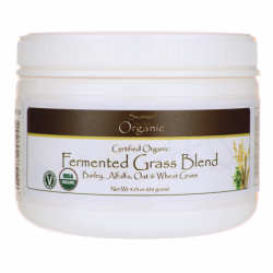 Certified Organic Fermented Grass Blend, 4.23 oz (120 grams) Pwdr