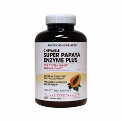 Chewable Super Papaya Enzyme Plus, 360 Chwbls