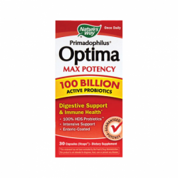 Primadophilus Optima Max Potency, 100 Billion CFU 30 Vcaps