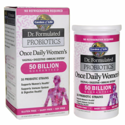 Dr Formulated Probiotics Once Daily Womens, 30 Veg Caps