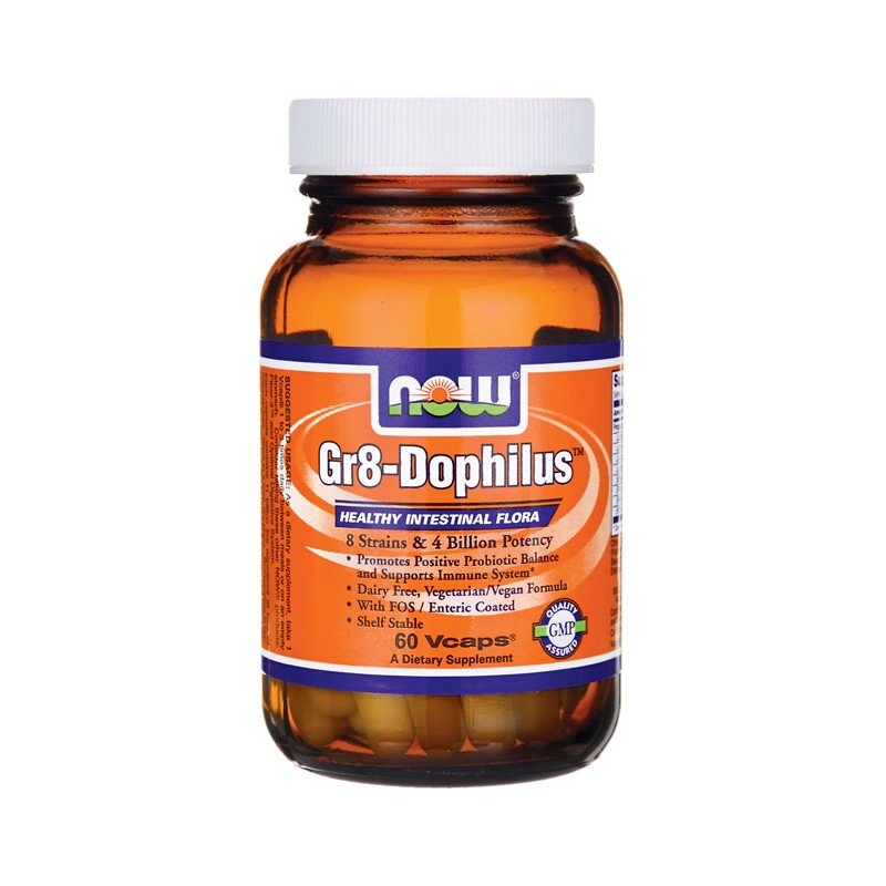 Gr8Dophilus Enteric Coated, 60 Vcaps