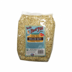 Organic Extra Thick Rolled Oats, 32 oz (907 grams) Pkg