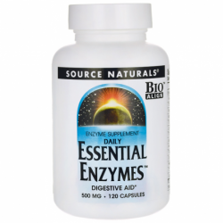 Daily Essential Enzymes, 500 mg 120 Caps