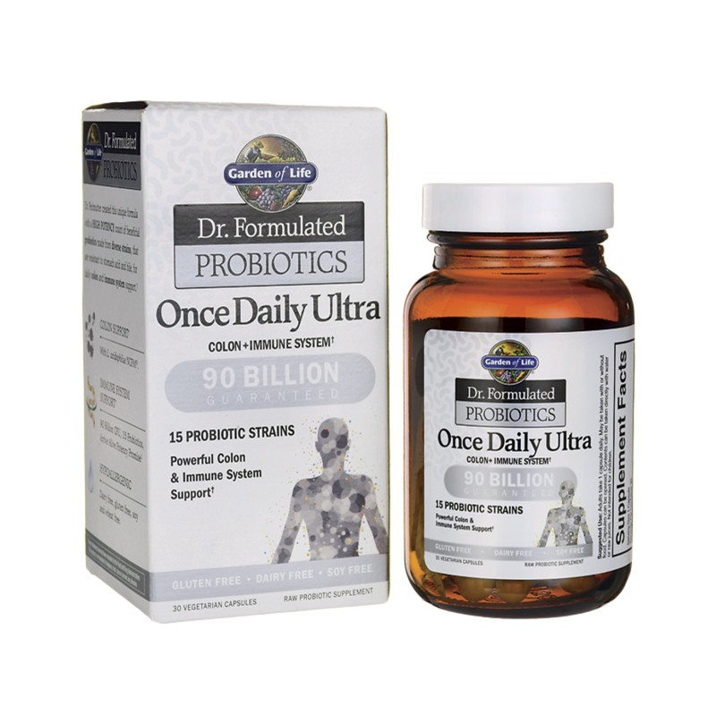 Dr Formulated Probiotics Once Daily Ultra, 30 Veg Caps