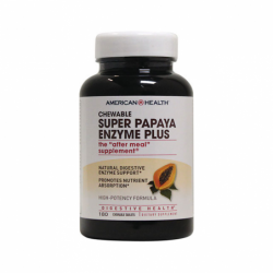 Super Papaya Enzyme Plus, 180 Tabs