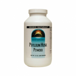 Psyllium Husk Powder, 12 oz (340 grams) Pwdr