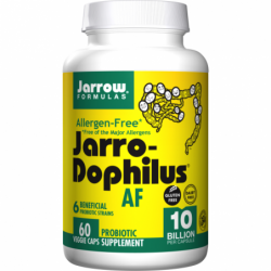 JarroDophilus AllergenFree 10 Billion, 60 Veg Caps