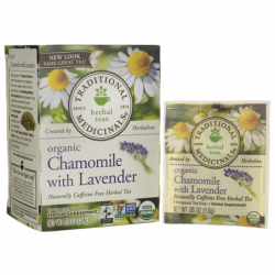 Organic Chamomile Tea with Lavender, 16 Bag(s)