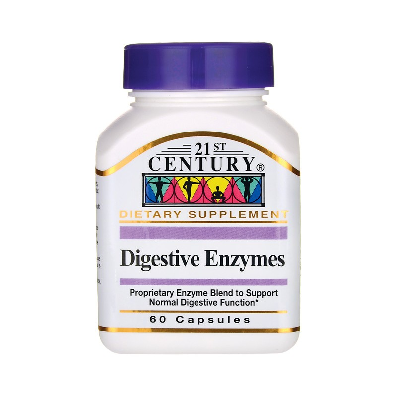 Digestive Enzymes, 60 Caps