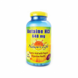 Betaine HCl, 648 mg 250 Caps