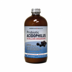 Probiotic Acidophilus  Blueberry Flavor, 16 fl oz (472 ml) Liquid