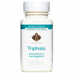 Triphala Detoxification and Digestion, 60 Veg Tabs