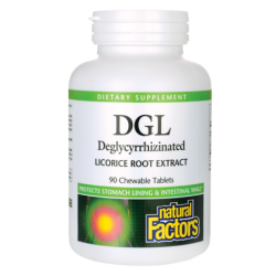 DGL Deglycyrrhizinated Licorice Root Extract, 90 Chwbls