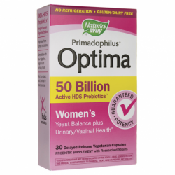 Primadophilus Optima Womens, 50 Billion CFU 30 Veg Caps