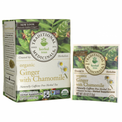 Organic Ginger with Chamomile, 16 Bag(s)