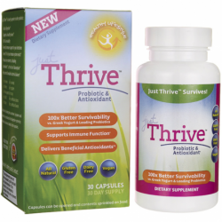 Just Thrive Probiotic & Antioxidant, 30 Caps