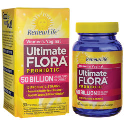 Womens Vaginal Ultimate Flora Probiotic  50 Billion, 60 Veg Caps