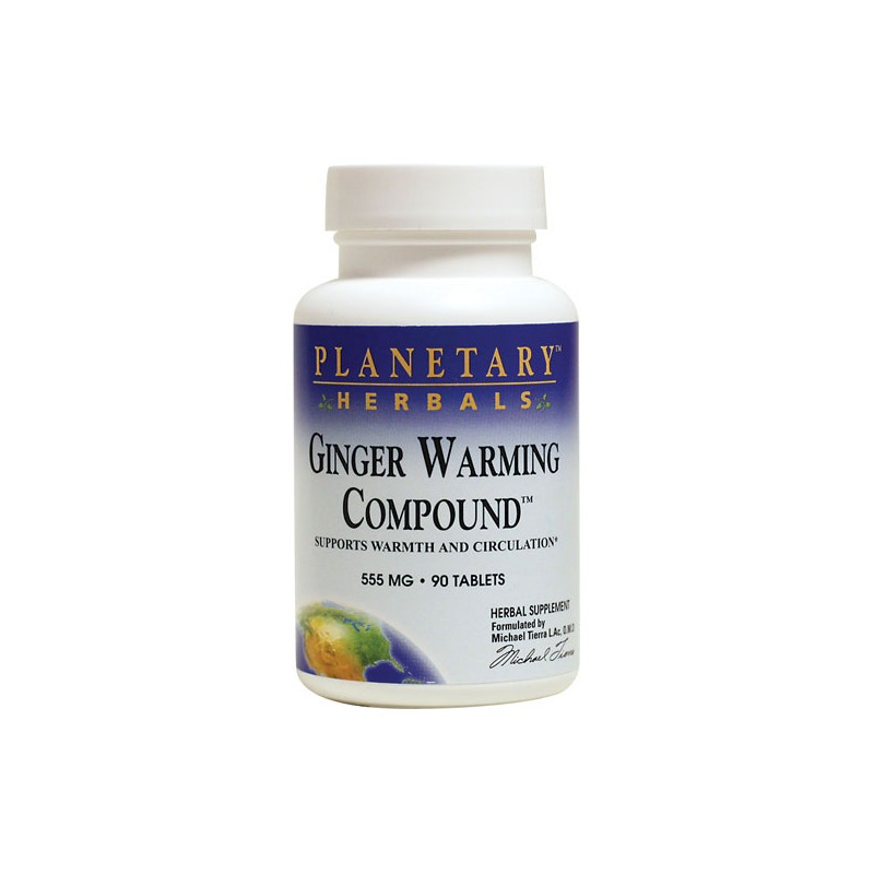 Ginger Warming Compound, 550 mg 90 Tabs