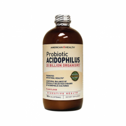 Probiotic Acidophilus  Plain Flavor, 16 fl oz (472 ml) Liquid