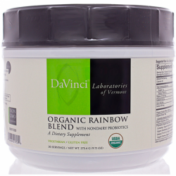 Organic Rainbow Blend with Nondairy Probiotics, 9.71 oz (275.4 grams) Pwdr