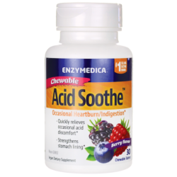 Chewable Acid Soothe  Berry Flavor, 30 Chwbls
