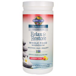 Dr Formulated Magnesium Relax & Restore  Raspberry Lemon, 16.3 oz (461 grams) Pwdr