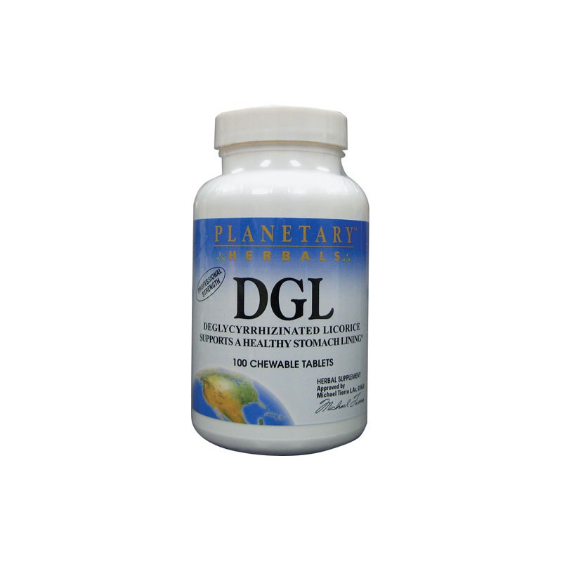 DGL Licorice, 100 Tabs