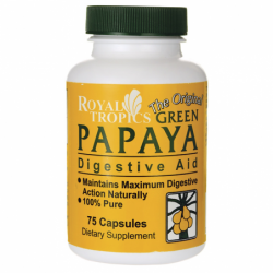The Original Green Papaya Digestive Aid, 75 Caps