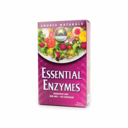 Essential Enzymes, 500 mg 30 Caps