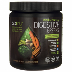 Fermented Digestive Greens, 6.35 oz (180 grams) Pwdr