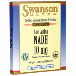 FastActing NADH High Bioavailability, 10 mg 30 Tabs