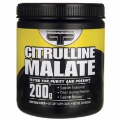 Citrulline Malate  Unflavored, 2,000 mg 200 grams Pwdr