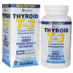 Thyroid T3, 180 Caps