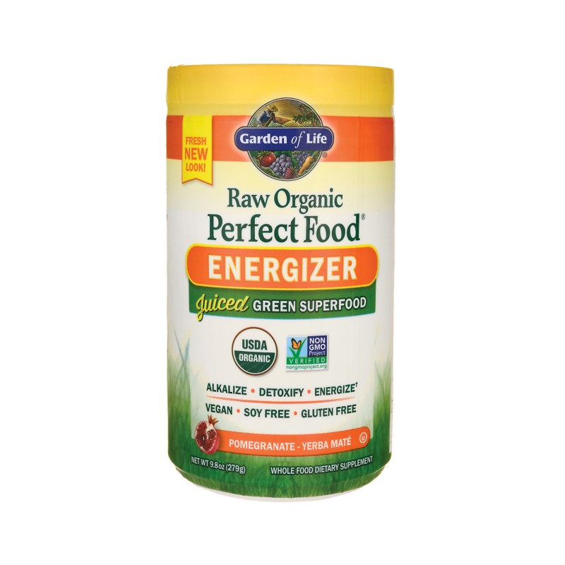 Raw Organic Perfect Food Green Superfood  Energizer, 9.8 oz (279 grams) Pwdr