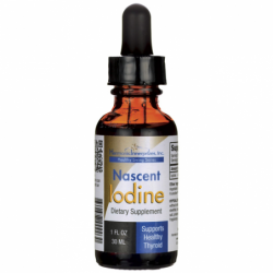 Nascent Iodine, 1 fl oz (30 mL) Liquid